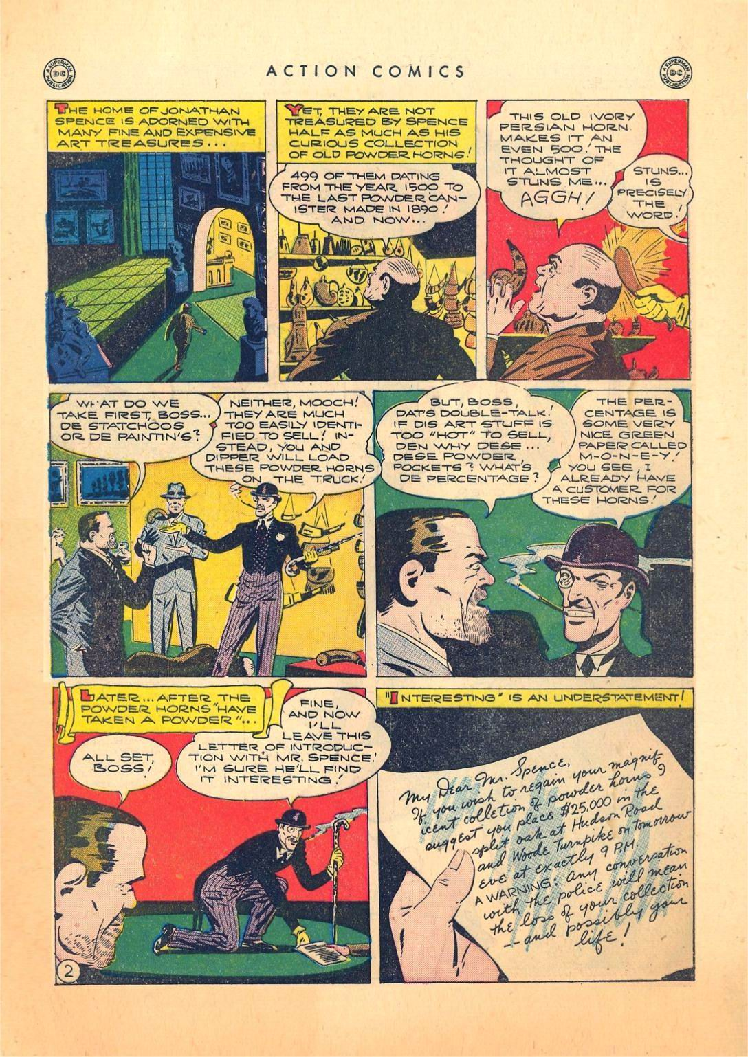 Action Comics (1938) 73 Page 2