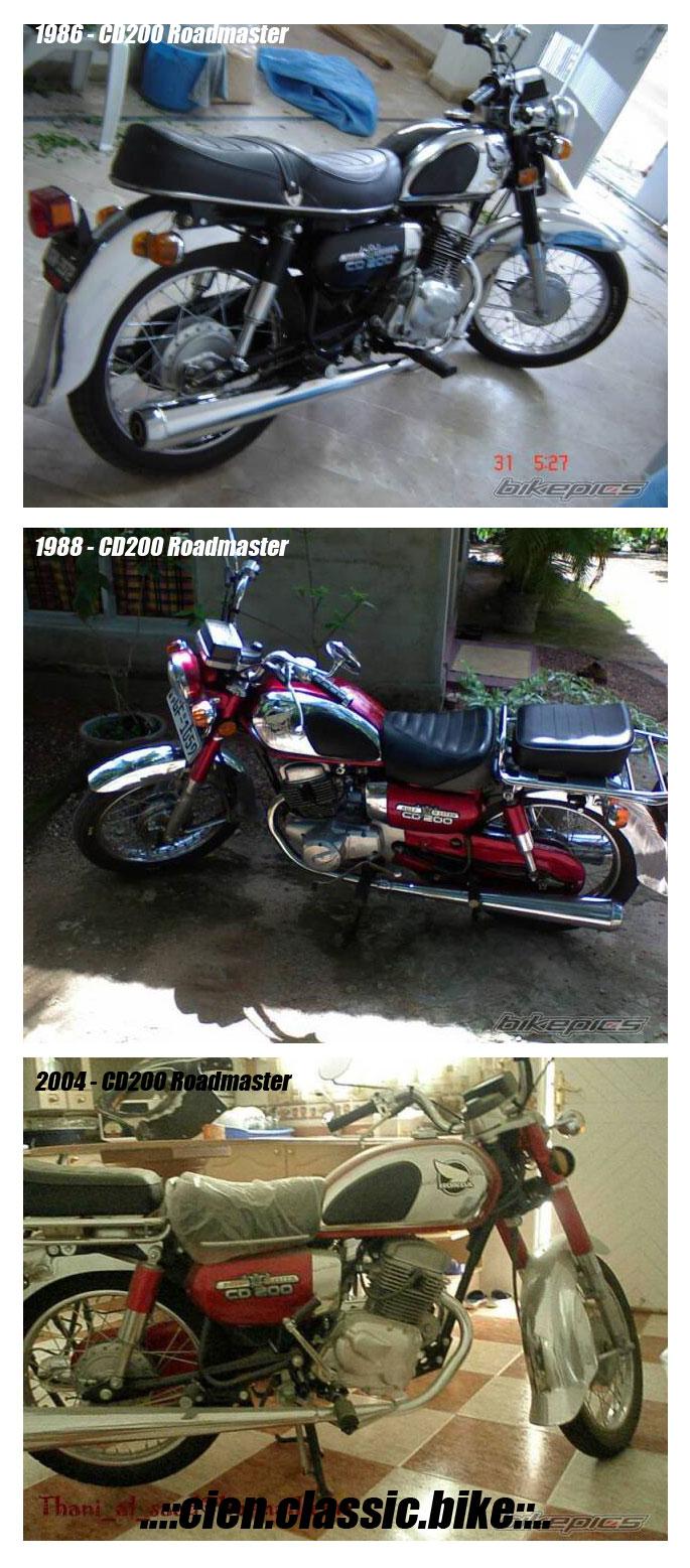 Tản mạn về Honda CD200 Roadmaster