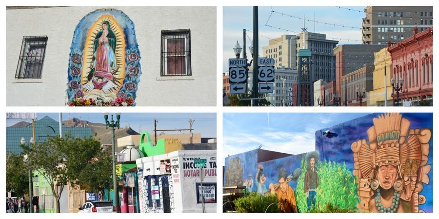 Street Art et bazars d'El Paso