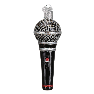 http://www.trendyornaments.com/microphone-36192-old-world-christmas-ornament.html