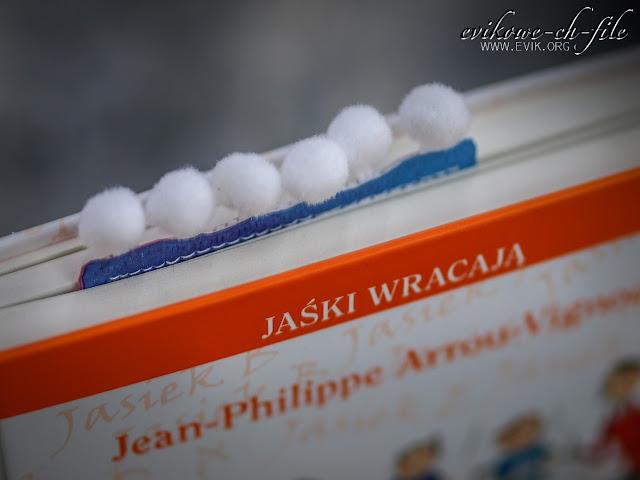 Evik, Ewa Jarlińska, zakładka do książki, bookmarker