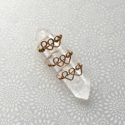 Free Wire Heart Ring Tutorial Using a Wire Jig or with Jewelry Tools