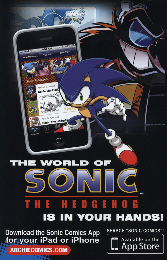 Read online Sonic The Hedgehog comic -  Issue #228 - 2