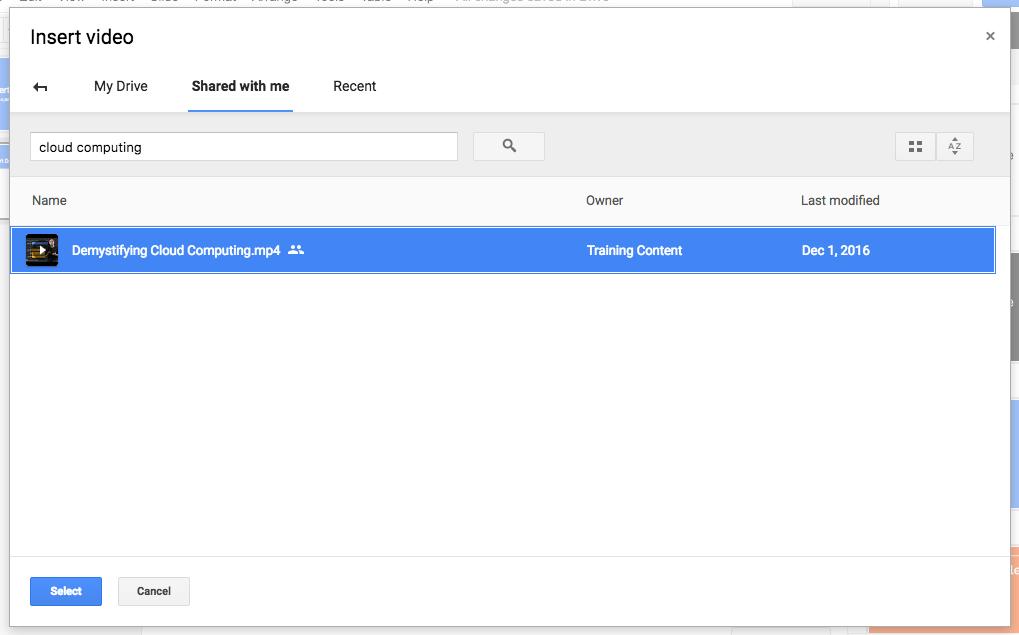 g suite アップデート ブログ google スライドに google ドライブから
