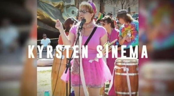 "VIDEO from 2011: AZ Democrat Candidate Kyrsten Sinema Mocks Arizonans as ""Crazy"" Calls AZ the ""Crazy State"""