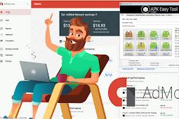 طريقة الربح من غوغل Admob باستخدام الهندسة العكسية ببرنامج Apk Easy Tool