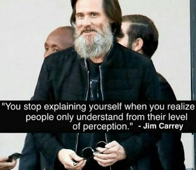jim carrey perception quote