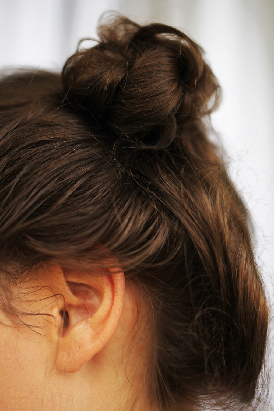 close up double bun