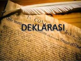Pengertian Deklarasi (Declaration)