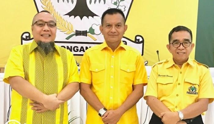 Tiga Tokoh Politisi Partai Golkar Bersatu Padu Menangkan Arinal Djunaidi