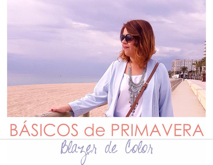 BÁSICOS DE PRIMAVERA - BLAZER COLOR Outfit (V)