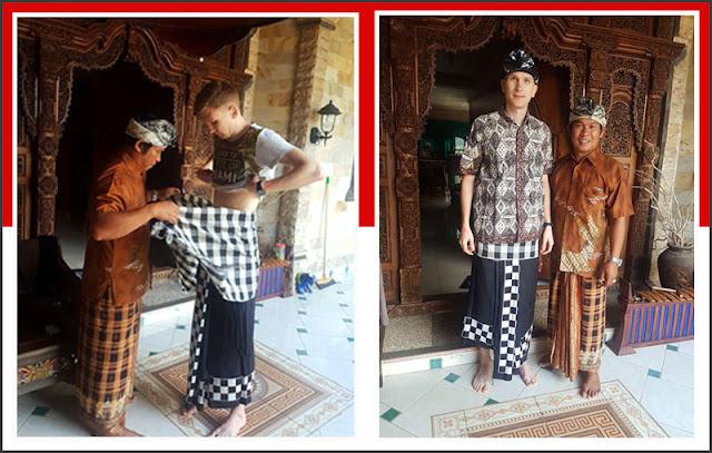 Gambar Pakaian Adat Bali Pria