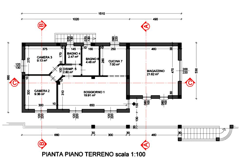 Progetto casa 120 mq un piano gh52 regardsdefemmes - Progetto casa 100 mq un piano ...