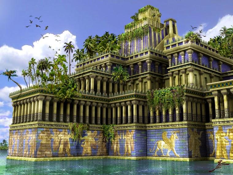 Curiosidades sobre as Sete Maravilhas do Mundo Antigo: Jardins Suspensos da Babilônia