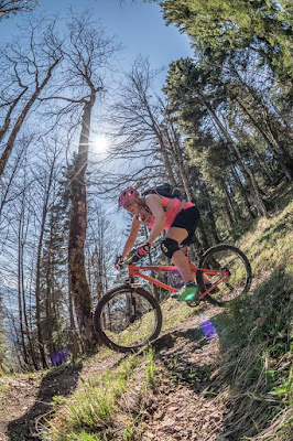 bikebersteigen im inntal feuerkopf trails, petra zeller