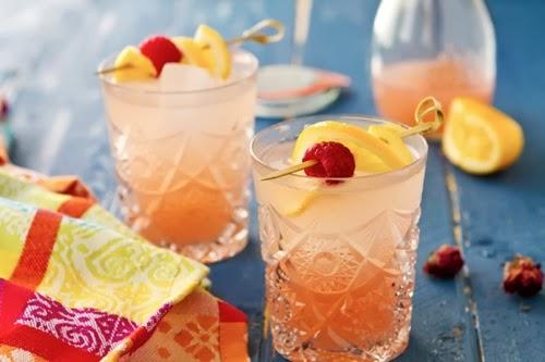 Sparkling Rosewater Lemonade