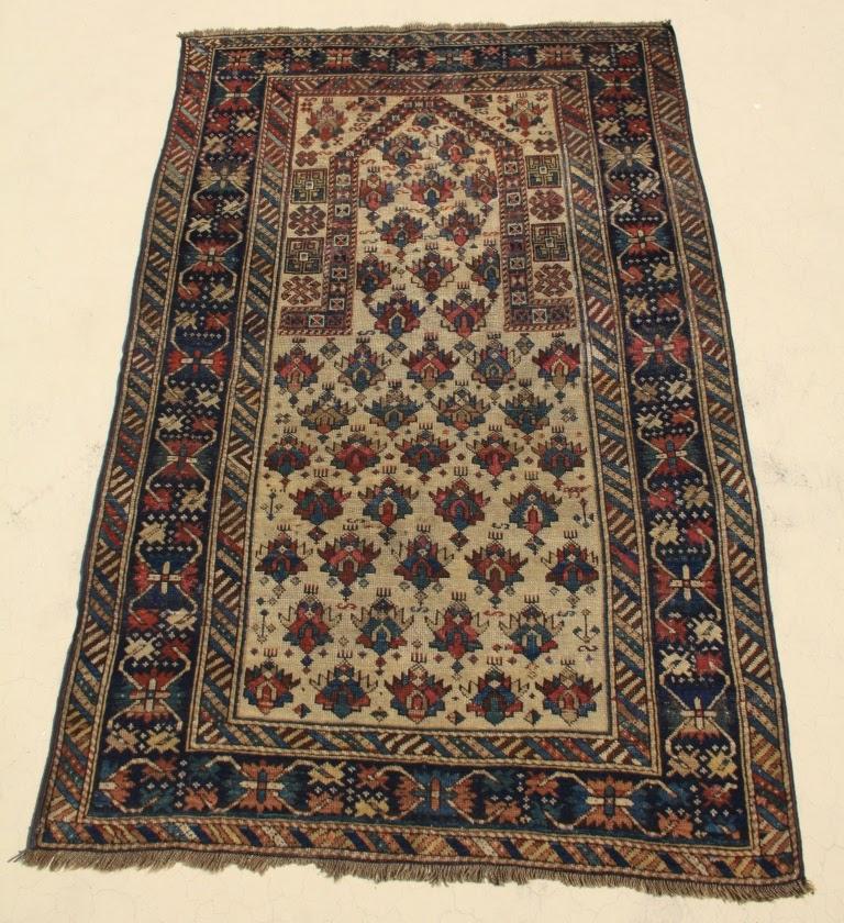 Tribal Rugs: Shirvan Prayer Rug (10003