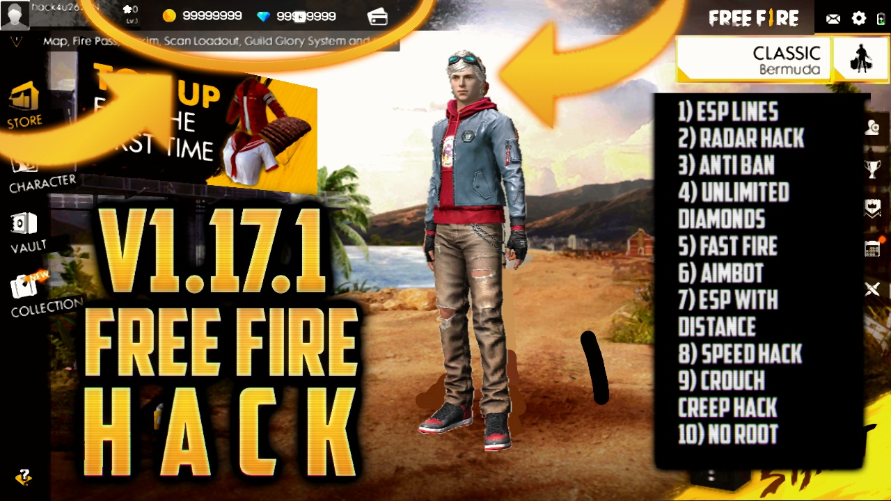 Free Fire Mod Apk Unlimited Diamonds Download Latest Version