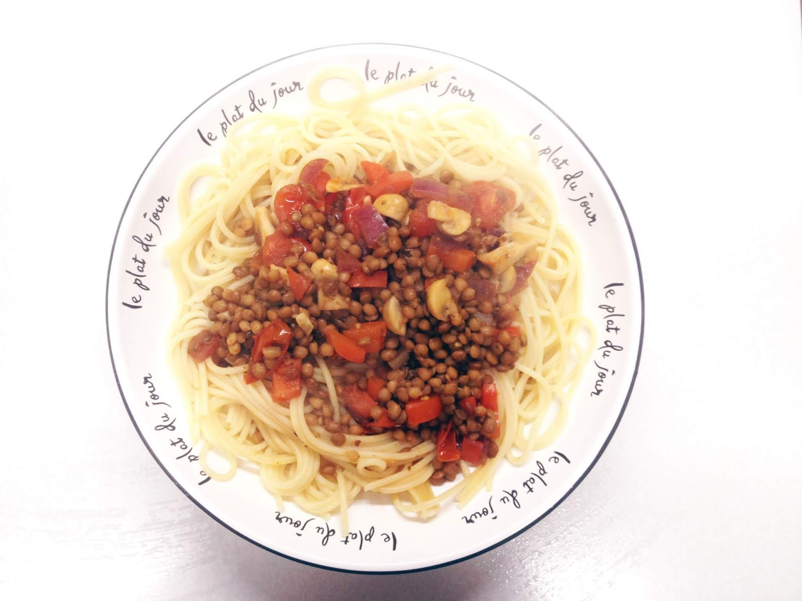 Vegetarian Lentil Bolognese, Vegetarian Bolognese recipes, Food blogs, Student food, Budget recipes, Easy recipes,