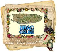 Novogodišnja čestitka slike otok Brač Online