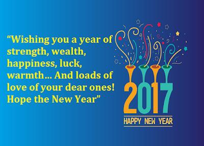 Happy New Year 2017 Dp Status Free