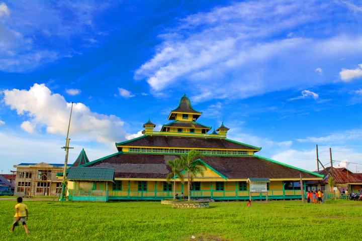 Tempat Wisata Religi Masjid Sultan Syarif Abdurrahman Pontianak