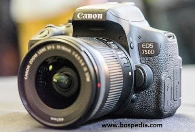 Harga dan Spesifikasi Kamera Dslr Canon 750D Terbaru 2016