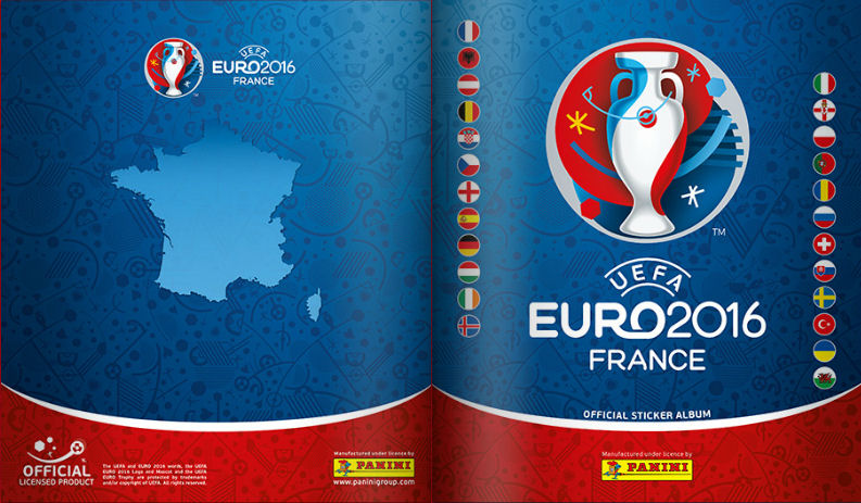 Football Cartophilic Info Exchange  Panini - UEFA Euro 2016 France ... 14b7daf441d11