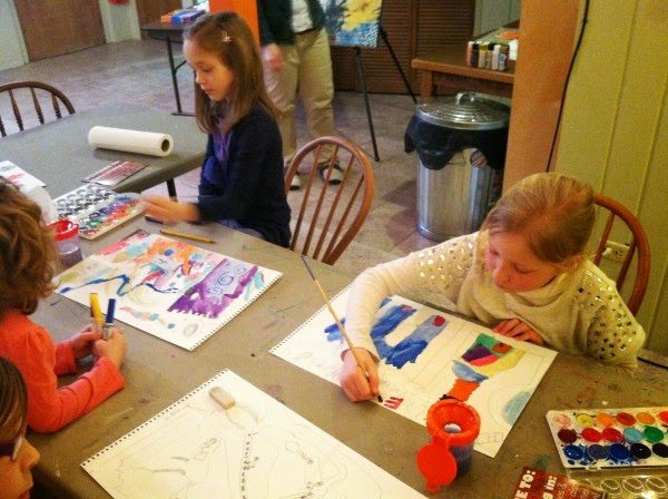 art class for 6 years old & up