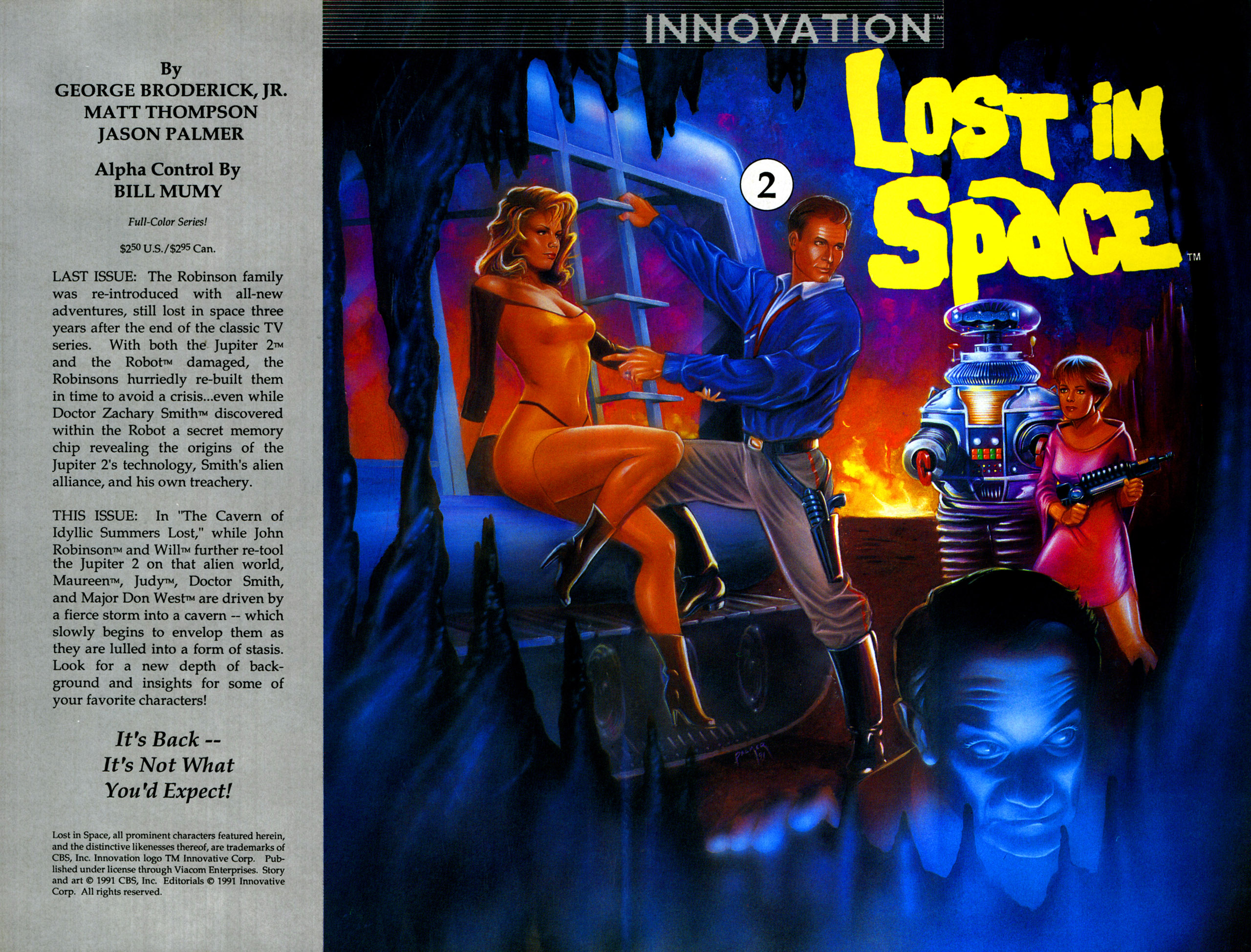 Lost in Space (1991) 2 Page 1