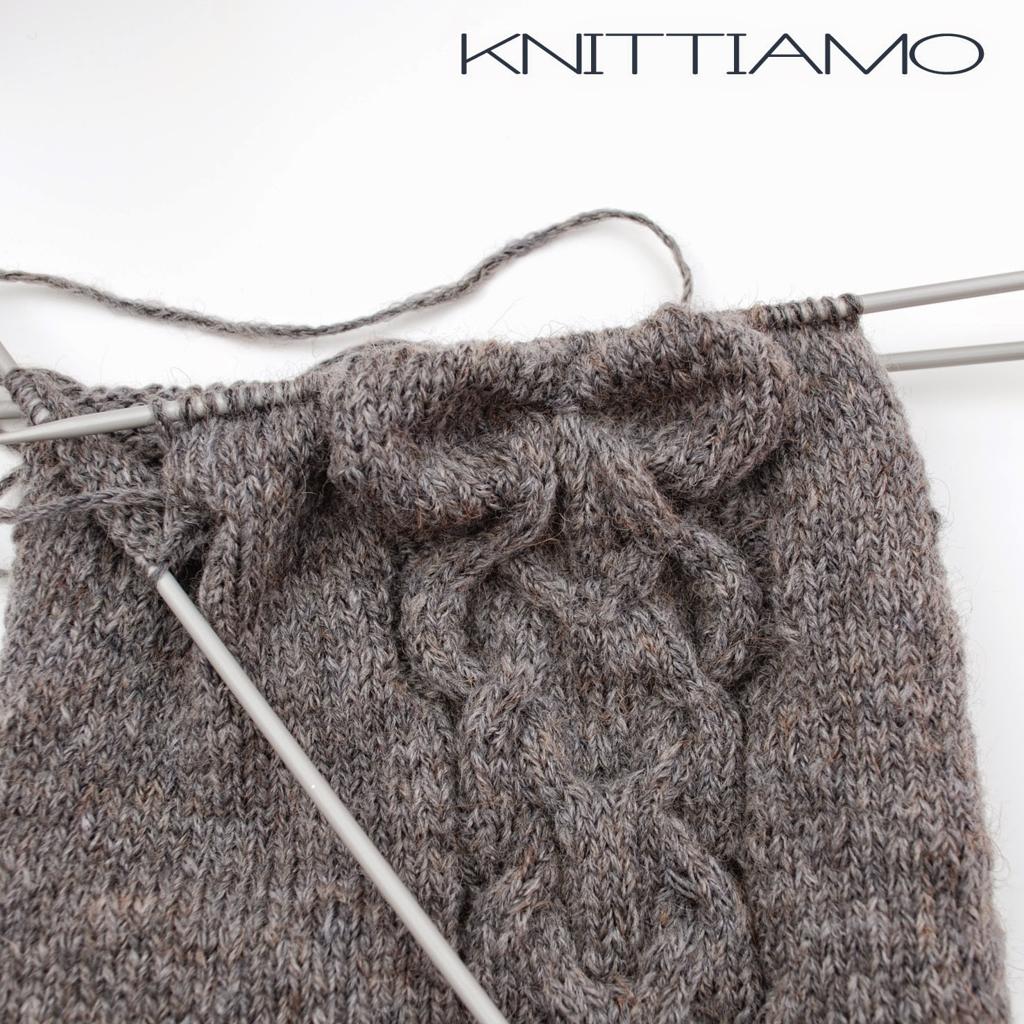 knitting bow pattern