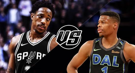 Live Streaming List: Dallas Mavericks vs San Antonio Spurs 2018-2019 NBA Season