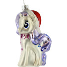 My Little Pony Glass Christmas Ornament Rarity Figure by Kurt Adler