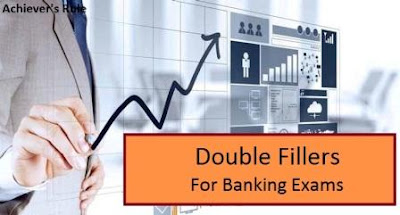 English Quiz: Double Fillers for IBPS PO Exams