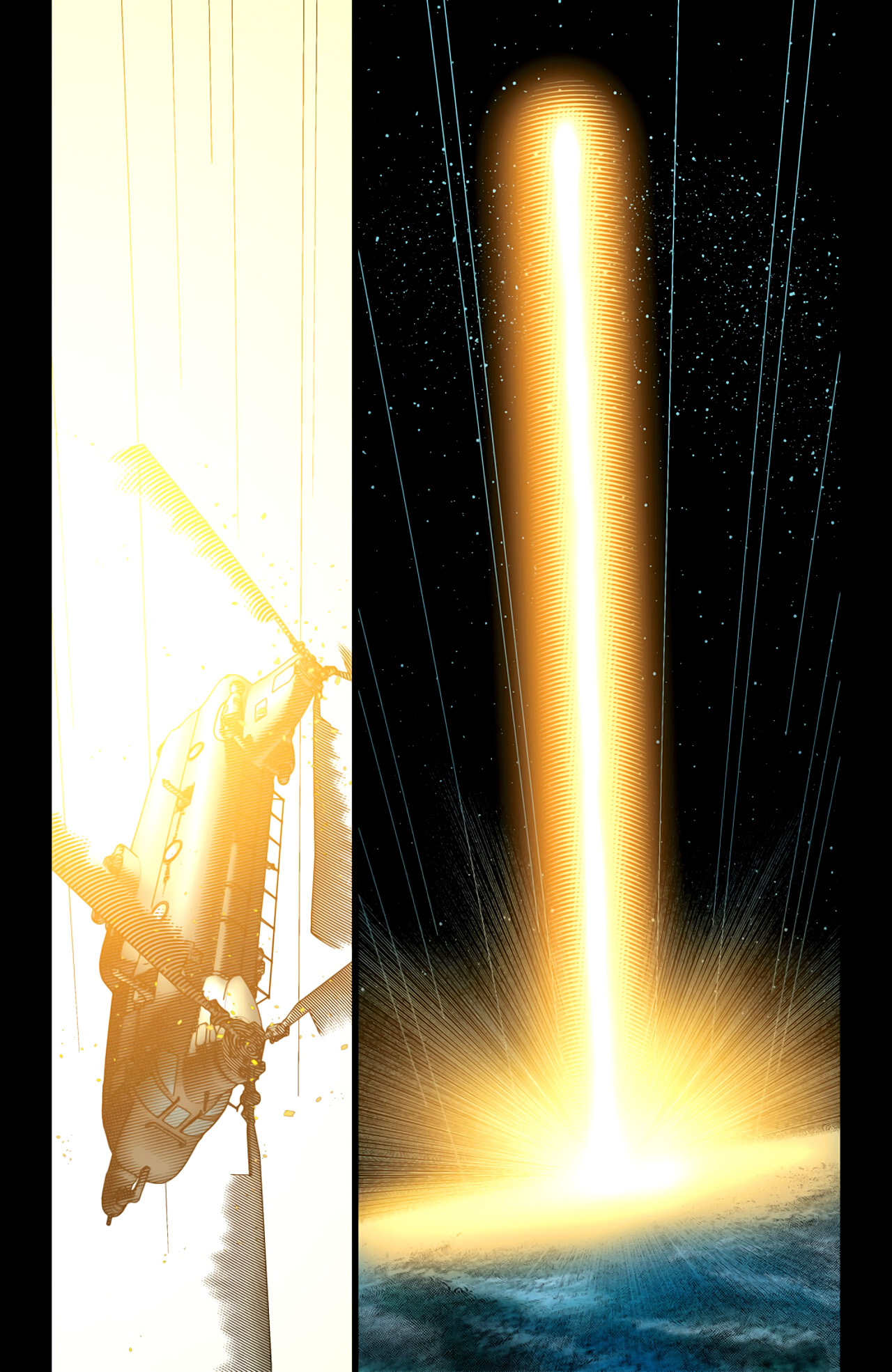 Read online Ultimate Extinction comic -  Issue #5 - 18