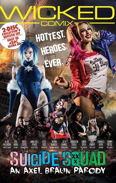 Asa Akira, Kleio Valentien - Suicide Squad XXX An Axel Braun Parody (Wicked Pictures)