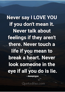 true love vs fake love quotes