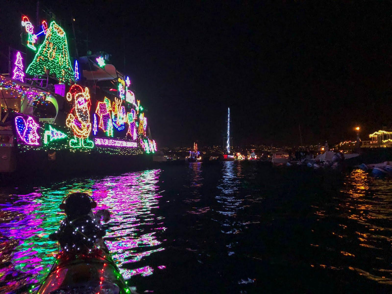 Christmas Boat Parade Newport Beach.2017 Newport Beach Christmas Boat Parade Paddle First