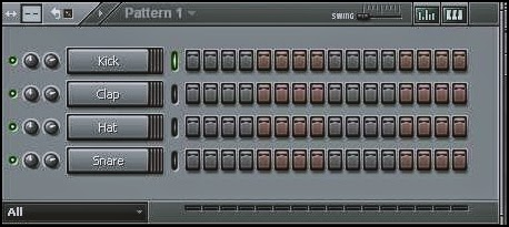Menu Edit Pattern FL Studio (Fruity Loops)