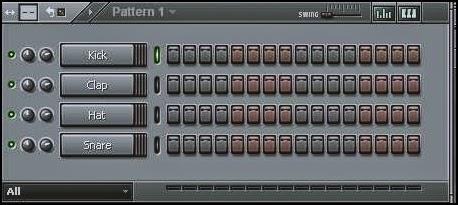 Menu Edit Pattern FL Studio (Fruity Loops)
