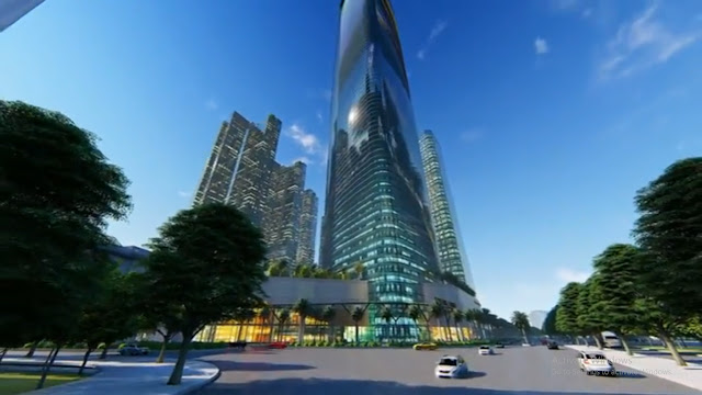Dự án Sunshine Empire 88 tầng Hà Nội Tower Sky Villas khu đô thị Ciputra