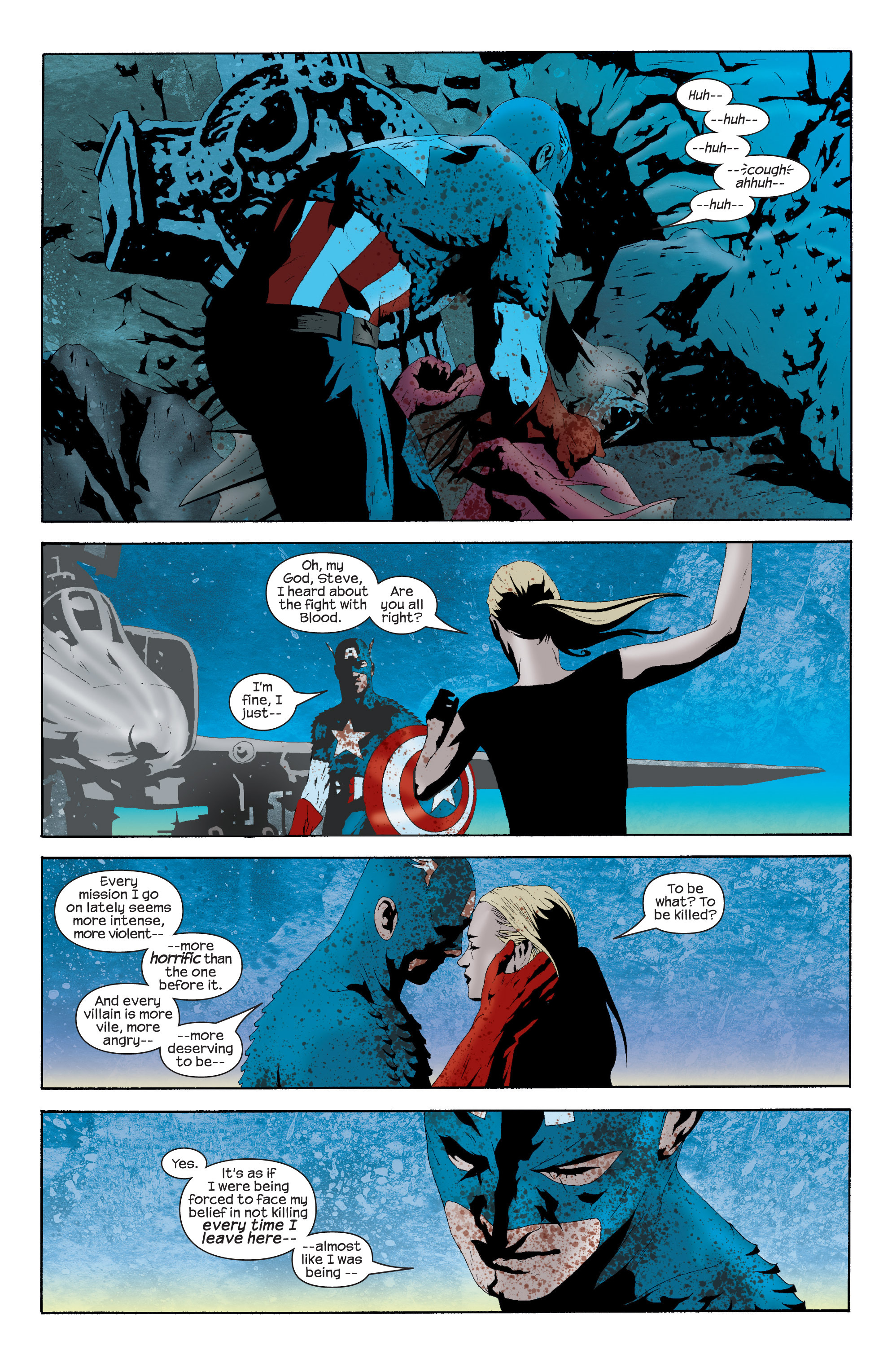 Captain America (2002) Issue #16 #17 - English 15