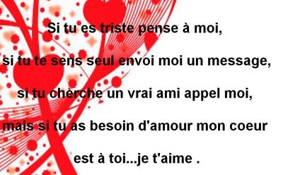 Messages Damour Pour Dire Je Taime à Une Femme Messages