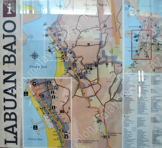 Labuan Bajo Map