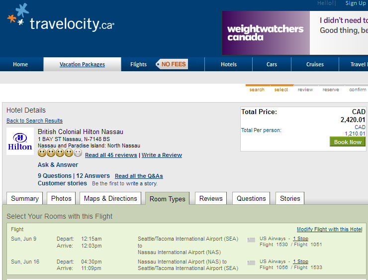 C$ 300 Expedia discount code for Bahamas vacation packages /by