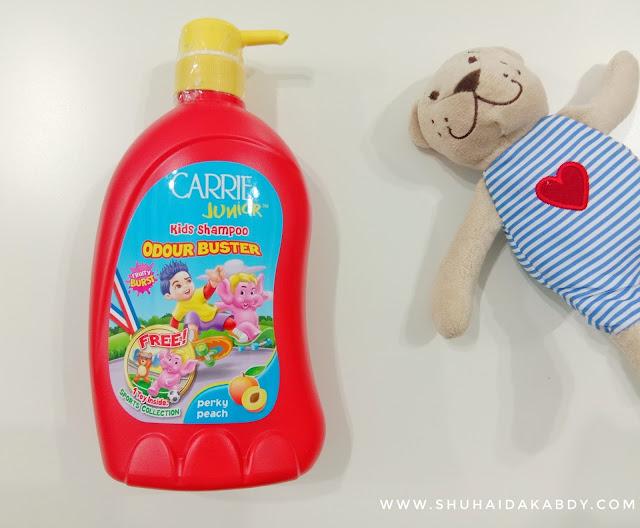 Carrie Junior Kids Shampoo Odour Buster Terbaru