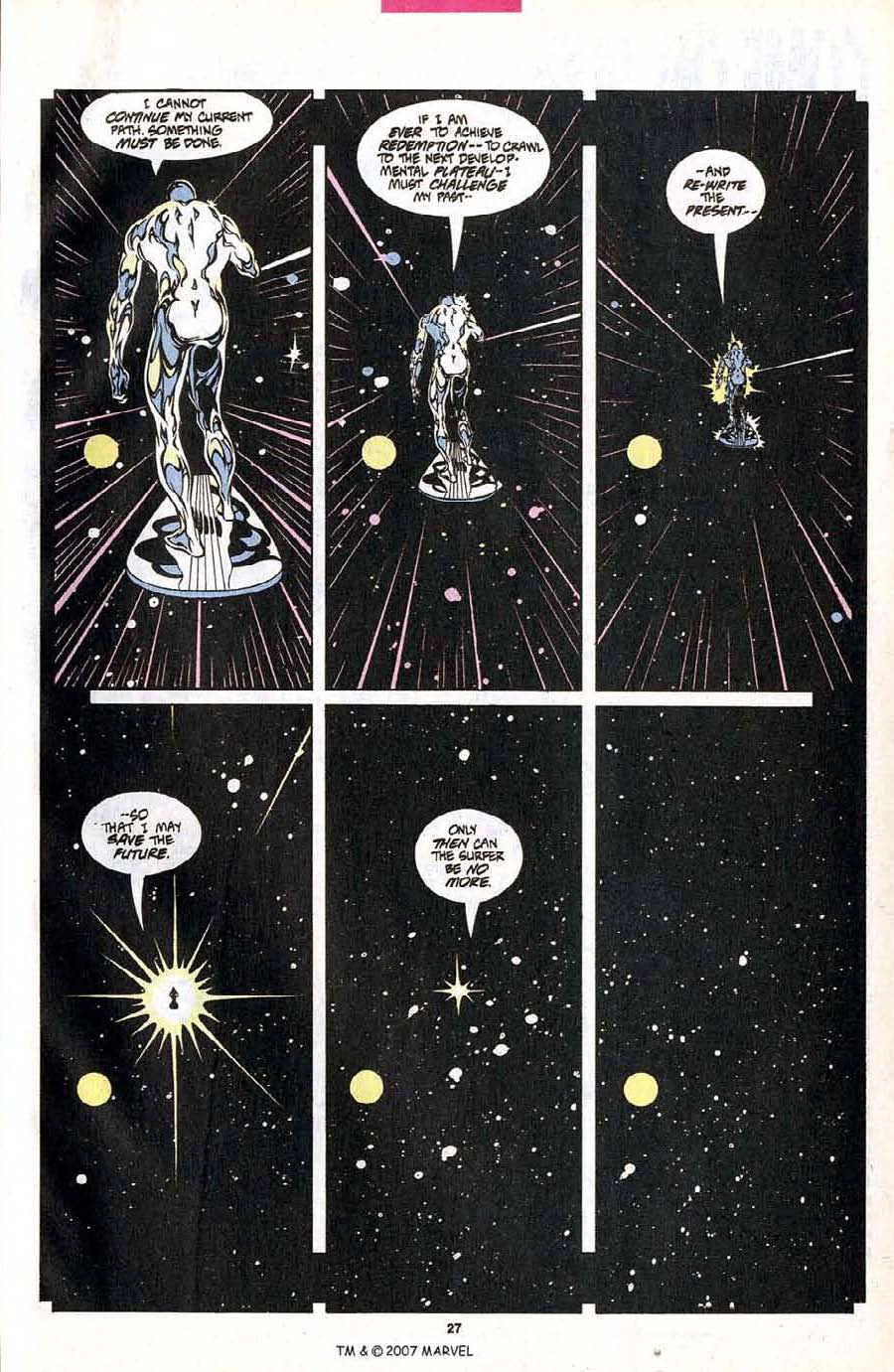 Read online Silver Surfer (1987) comic -  Issue #102 - 29