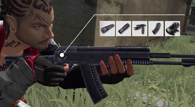 senjata baru AN94 setelah maintenance FF