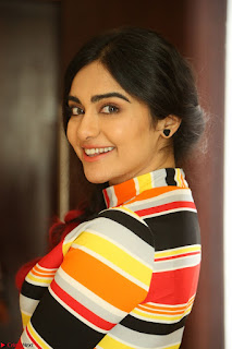 Adha Sharma in a Cute Colorful Jumpsuit Styled By Manasi Aggarwal Promoting movie Commando 2 (105).JPG