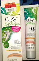 review Olay Fresh Effects skincare beauty benefits tinted moisturizing acne sunscreen